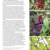 article of Holly C Stonework in yarra valley and ranges magazine
