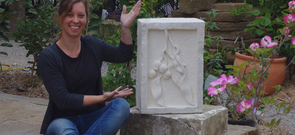carving work of Holly C Stonework